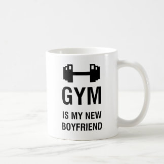 GYM IS MY NEW BOYFRIEND COFFEE MUG