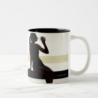 Gym, Tolworth, Uk 5 Two-Tone Coffee Mug
