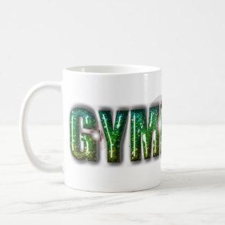 Gymnast Glitter Green Coffee Mug