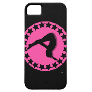 Gymnast in pink iPhone 5 covers