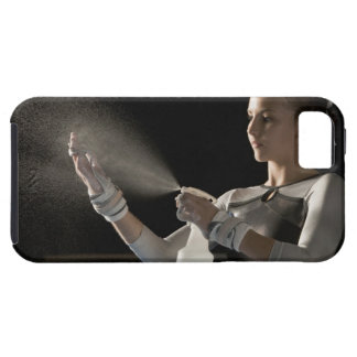 Gymnast spraying water on hands case for the iPhone 5
