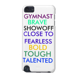 Gymnastics ipod 5th gen case iPod touch 5G cover