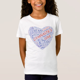 GYMNASTICS LOVE TEE SHIRT