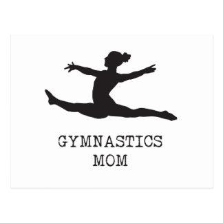 Gymnastics Mum Postcard