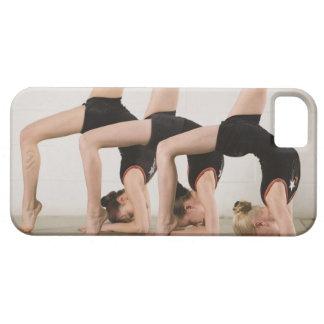 Gymnasts posing upside down iPhone 5 case