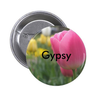 Gypsy 6 Cm Round Badge