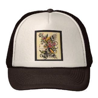 """""""Gypsy"""" Mesh Hat"""