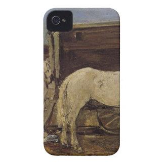 Gypsy Horses by Eugene Boudin iPhone 4 Case-Mate Case