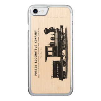 H K Porter Locomotive Company Class B-T4 Carved iPhone 8/7 Case
