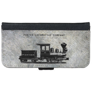 H K Porter Locomotive Company Class B-T4 iPhone 6 Wallet Case