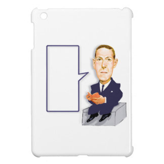 H.P.Lovecraft 1890 1937 cartoon on ipad mini case