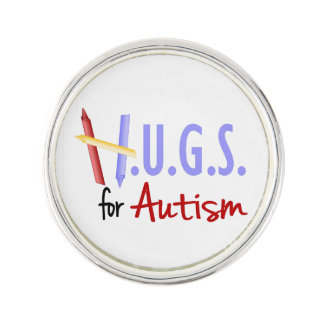 H.U.G.S. for Autism Lapel Pin