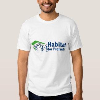 Habitat for Profanity T-shirts