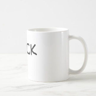 hack  basic logo basic white mug
