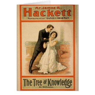 Hackett, 'The Tree of Knowledge' Retro Theater Cards
