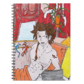 Hadès of the Scorpion Notebook