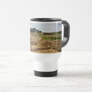 Hadrian's Wall, Northumberland, England Travel Mug
