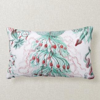 Haeckel Siphonophorae Lumbar Pillow