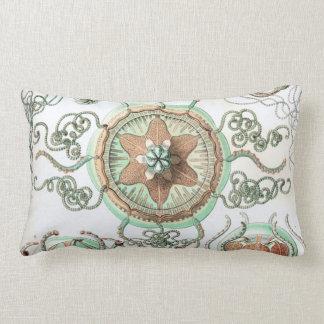 Haeckel Trachomedusae Lumbar Pillow
