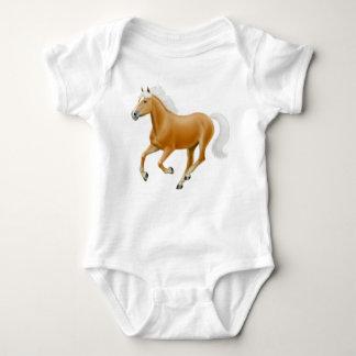 Haflinger Palomino Pony Infant One Piece Baby Bodysuit