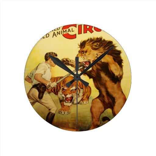 Hagenbeck Circus vintage Clock