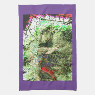 Hager MOUNTAIN Map Fremont Winema National Forest Tea Towel