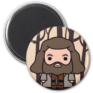 Hagrid Cartoon Character Art Magnet
