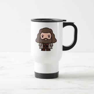 Hagrid Cartoon Character Art Travel Mug