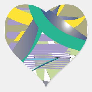 Haiku Heart Sticker