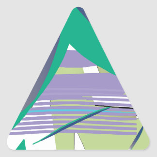 Haiku Triangle Sticker