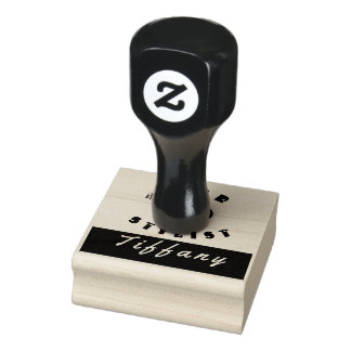 Hair Drier  Stylist Salon Beauty Rubber Stamp