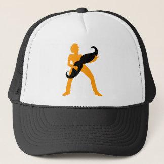 Hair Guitar Trucker Hat