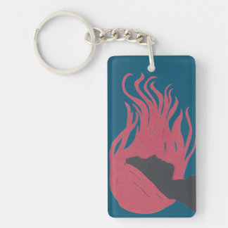 Hair in the Wind Key Ring