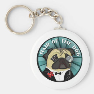 Hair Of The Dog merch Basic Round Button Key Ring