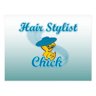Hair Stylist Chick #3 Postcard