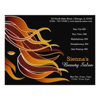 Hair stylist 21.5 cm x 28 cm flyer