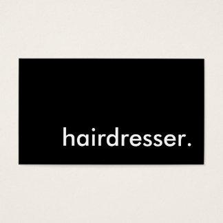 hairdresser.
