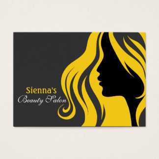 Hairdresser Appointment Card (gold)