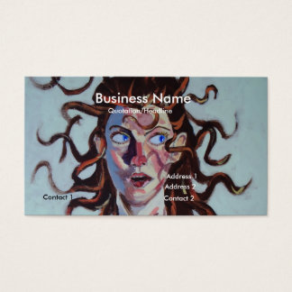 hairdresser business card