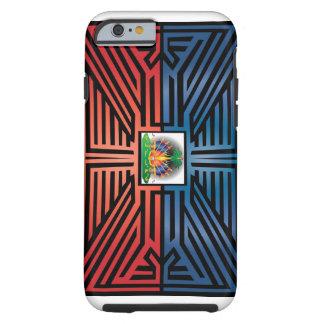 Haiti Abstract Tough iPhone 6 Case