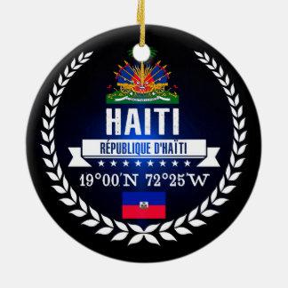Haiti Christmas Ornament