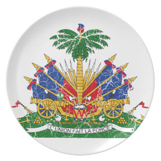 Haiti Coat Of Arms Plate