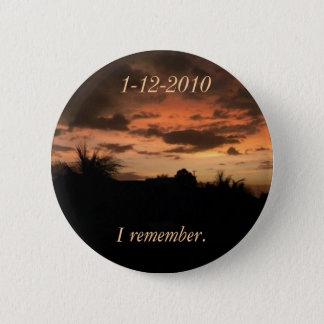 Haiti Earthquake 6 Cm Round Badge