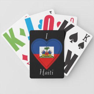 Haiti flag bicycle playing cards