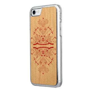 Haiti Flag Carved iPhone 8/7 Case