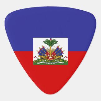 Haiti Flag Guitar Pick