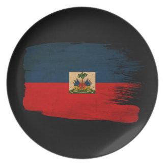 Haiti Flag Plate