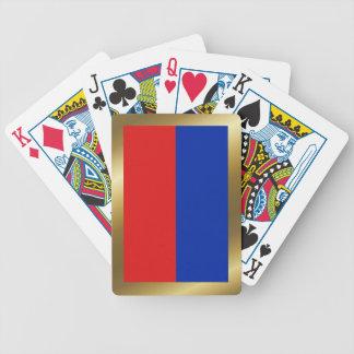 Haiti Flag Playing Cards