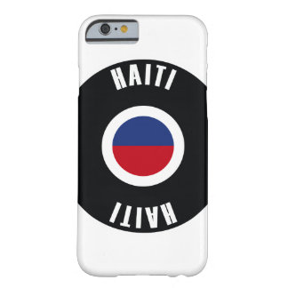 Haiti Flag Simple Barely There iPhone 6 Case