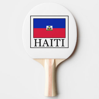 Haiti Ping Pong Paddle